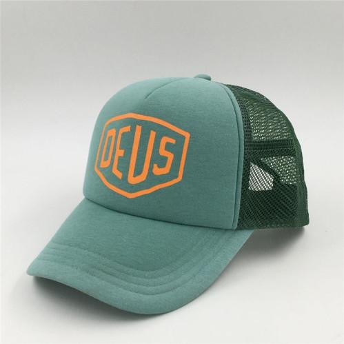 09aa6ae4ed2d0 wholesale custom summer sand beach 5 panel cyanine mesh trucker hat  baseball cap with screen printing logo