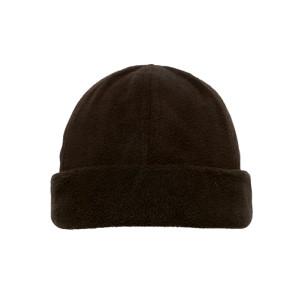 custom wholesale cheap hot sale  winter  plain soft fleece fabric beanie hat