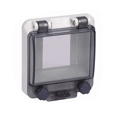 CE&RoHS ,IP66 Transparent Contact Protection Window Hood for Distribution Box Dustproof PWH