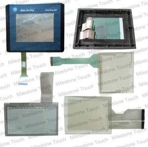 2711-k6c10 panel de pantalla táctil/panel táctil de pantalla para 2711-k6c10