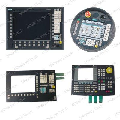 Membranentastatur Tastatur FM-NC/810D/DE/840D/DE 19 der Membrane 6FC5203-0AD10-1AA0/6FC5203-0AD10-1AA0