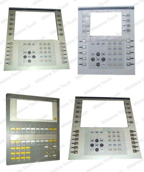 Teclado de membrana xbtf011310/xbtf011310 teclado de membrana para op47