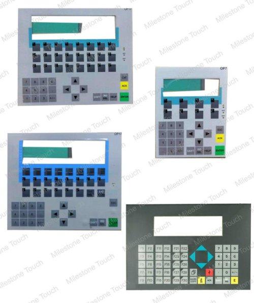 Folientastatur 6AV6 640-0BA11-0AX0 OP73/6AV6 640-0BA11-0AX0 OP73 Folientastatur