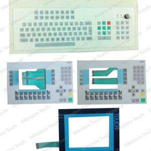 6AV3 627-1JK00-0AX0 OP27 Membranentastatur/Membranentastatur 6AV3 627-1JK00-0AX0 OP27