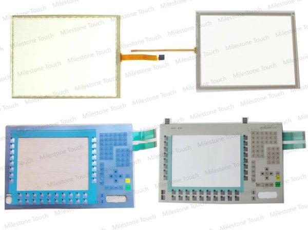 Del teclado de membrana 6ES7676-2BA00-0DC0/6ES7676-2BA00-0DC0 LLAVE del PANEL teclado membrana PC477B 12