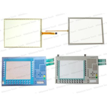 Membranentastatur 6AV7873-0BB10-1AC0/6AV7873-0BB10-1AC0 SCHLÜSSEL DER VERKLEIDUNGS-Tastatur Membrane PC677B 15