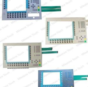 Membranentastatur Tastatur der Membrane 6AV3647-2MM12-5GG1/6AV3647-2MM12-5GG1 für OP47