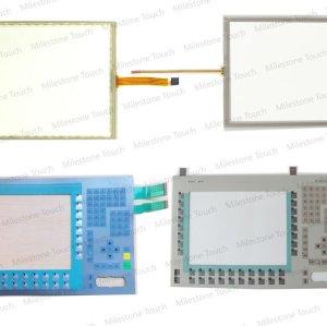 Teclado de membrana 6av7613 - 0aa12 - 0aj0/6av7613 - 0aa12 - 0aj0 teclado de membrana del panel pc 670 12