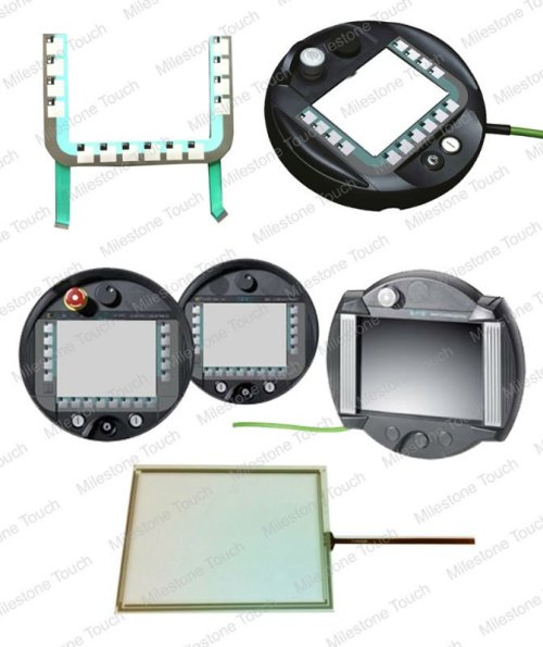 Membranentastatur 6AV6 645-0BE02-0AX0/6AV6 645-0BE02-0AX0 Membranentastatur für bewegliche Verkleidung 277