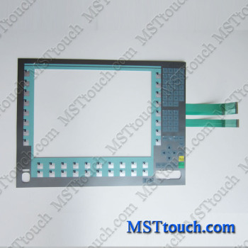 6AV7873-0BC20-1AC0 Membrane keypad switch for 6AV7873-0BC20-1AC0 Panle PC677B 15