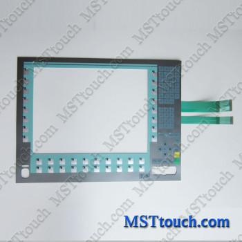 6AV7873-0BB10-1AC0 Membrane keypad switch for 6AV7873-0BB10-1AC0 PANEL PC677B 15