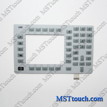 Membrane Keypad Keyboard Switch for ABB Flexible Automation AS TPU2 3HNE00026 Teach Pendant