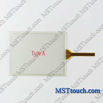 Touch Screen Digitizer Panel Glass for FANUC A05B-2301-CXXX TEACH PENDANTS with Overlay Film Membrane