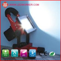 Quality guarantee New Style IP65 10W portable led floodlight , AC/DC adapter, 12V car plug charger include