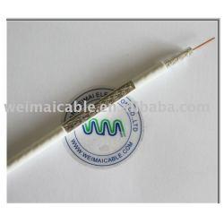 الكابلات المحورية( rg58 rg59 rg6 rg7 rg11 rg213)
