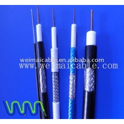 جودة عالية اقناع الكابل (RG58 RG59 RG6 RG11 RG7 RG213) للحصول على التلفزيون 101