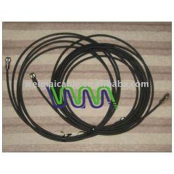 عالية الجودة الكابلات المحورية( rg58 rg59 rg6 rg7 rg11 rg213) tv3647 للحصول على