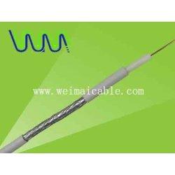 كابل متحد المحور rg58 rg59 rg6 rg7 rg11 rg213 4030 المصنوعة في الصين