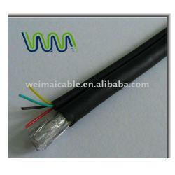 عالية الجودة الكابلات المحورية لcctv rg6 الكيبل التلفزيوني 5132 المصنوعة في الصين