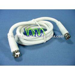 عالية الجودة الكابلات المحورية( rg58 rg59 rg6 rg7 rg11 rg213) pvc3244 للتلفزيون