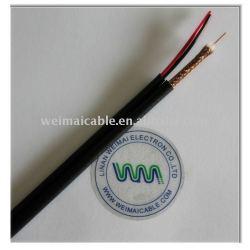 عالية الجودة الكابلات المحورية لcctv rg6 الكيبل التلفزيوني 3951 المصنوعة في الصين