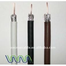 عالية الجودة rg-6/ u الكابلات المحورية 3691 المصنوعة في الصين
