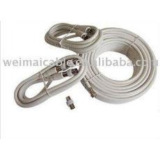 Caliente la venta de la serie RG RG6 RG11 RG59 RG58 Cable Coaxial de 75 OHM WMV360