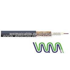 الصين النحاس الكابلات المحورية wmm2025 rg174 لينان