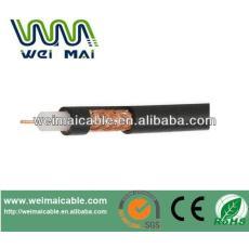 De China Linan CCTV barato de baja pérdida 50ohm cable coaxial RG58 WMM2810