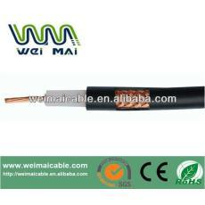 De China Linan CCTV barato de baja pérdida 50ohm cable coaxial RG58 WMM3206