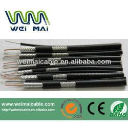 De China UL del CE RoHs linan RG6 RG11 RG59 coaxial cable WMT2014030432 RG6 cable