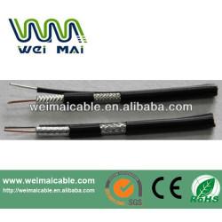 De China UL del CE RoHs linan RG6 RG11 RG59 coaxial cable WMT2014030423 RG6 cable