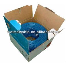 Utp / FTP / STP / SFTP Cat 5e Cable de Lan de fabricante profesional WMP97