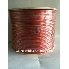 De gama alta de PVC Cable del altavoz 1