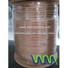 Negro y rojo o Cable de altavoz transparente WM00447 Dhigh end Cable de altavoz