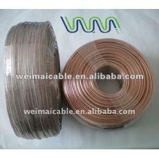 Negro y rojo o Cable de altavoz transparente WM00450 Dhigh end Cable de altavoz
