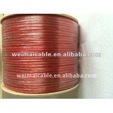 10AWG cable de altavoz transparente WM0486D ear speaker flex cable