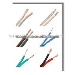 siyah ve kırmızı ya şeffaf hoparlör kablosu wm0587dhigh uç hoparlör kablosu