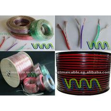 Linan precio de fábrica cable de altavoz transparente wml1457