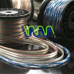لينان wml1761 سعر المصنع كابل مكبر الصوت شفافة