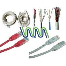 WM0591D 1-200 أزواج CAT3 كابل الهاتف في الأماكن المغلقة / في الهواء الطلق كابل الهاتف
