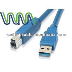Cable Usb 3.0 con velocidad de transferencia de máximo 5.0 gbps, Usb2.0 USB3.0 y WM0064D