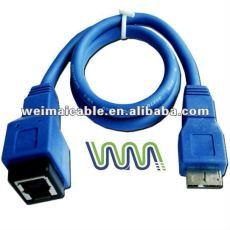 3.0 USB cable con velocidad de transferencia de máximo 5.0 gbps, Usb2.0 / USB3.0 WM0035D