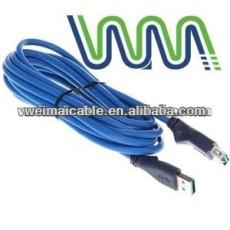 Cable USB 3.0 con velocidad de transferencia de máximo 5.0 gbps, Usb2.0 USB3.0 y WM0309D USB Cable