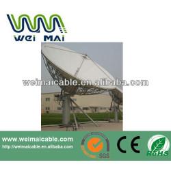 3 m satélite plato WMV0320V banda Ku y C de banda 3.7 m / 3 m antena de TV vía satélite plato