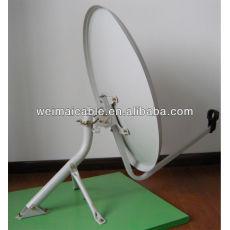 Montaje en pared C y Ku banda de la antena parabólica WMV021436