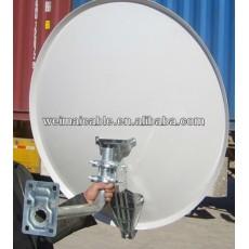 C y Ku banda de la antena parabólica africana mercado WMV112948 antena parabólica