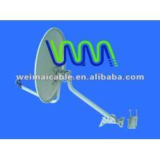 Satélite antena de plato de la banda KU WM0175D antena parabólica