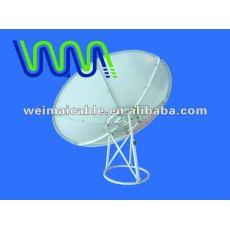 Satélite antena de plato de la banda KU WM0164D
