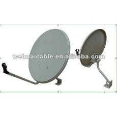 Banda ku 60 CM antena de plato ( 60 CM * 66 CM ) WM0080D antena parabólica